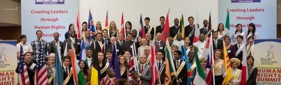我國青少年代表莊凱仲 出席第八屆日內瓦國際人權高峰會